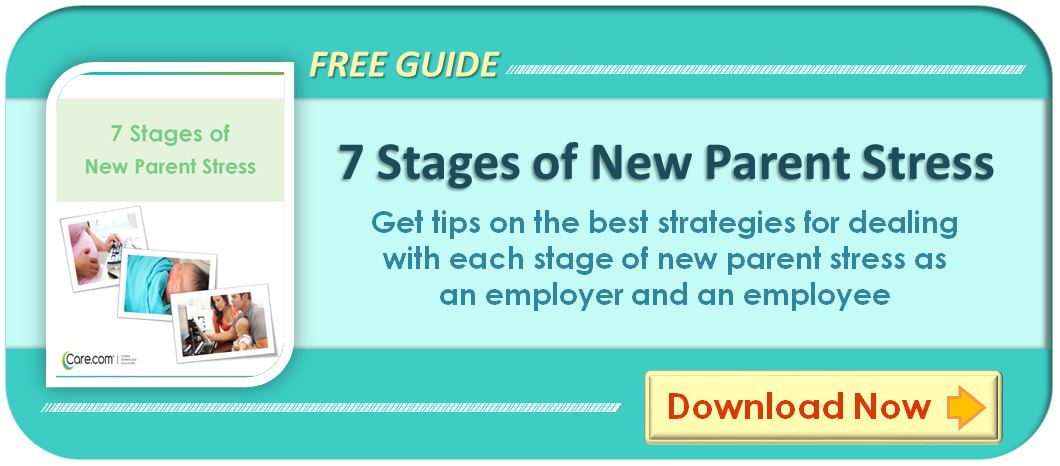 Free Guide to New Parent Stress