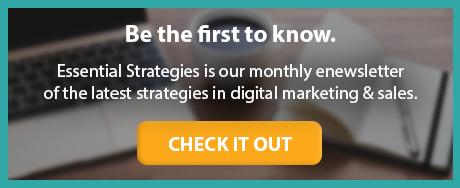 Essential Strategies enewsletter sign up button