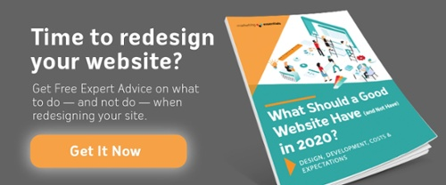 Time to redesign your website? Get Free Expert Advice on what to do - and not do - when redesigning your site. Get it Now!
