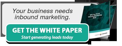 Your business needs inbound marketing.