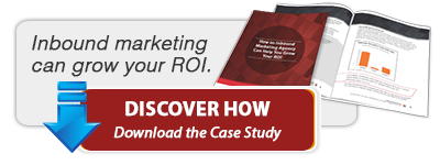Inbound marketing can grow your ROI