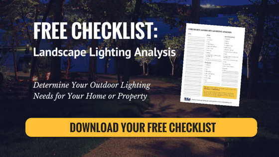 FREE Landscape Lighting Analysis Checklist