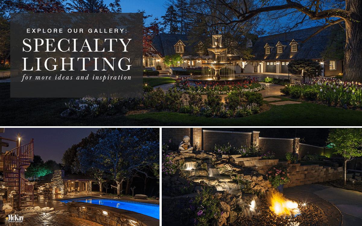 Custom Outdoor and Landscape Lighting Ideas - Browse Our Photos for Inspiration   McKay Landscape Lighting Omaha Nebraska
