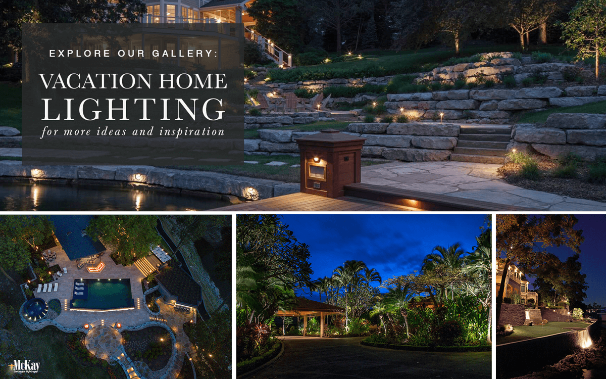 Vacation & Lake Home Outdoor Lighting Ideas - Browse Our Photos for Inspiration | McKay Landscape Lighting Omaha Nebraska