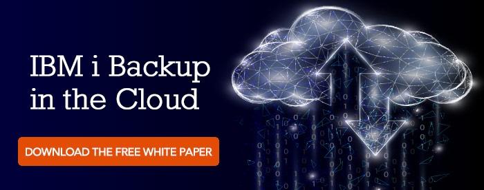 IBM i Backup in the Cloud