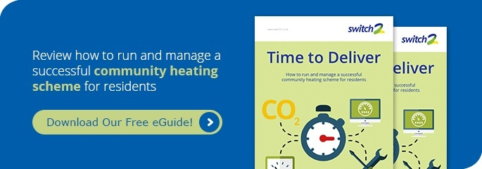 Time to Deliver - How to run and manage a successful community heating scheme for residents