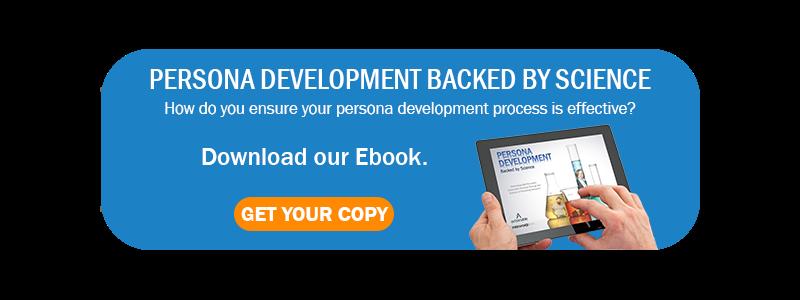 Persona Development Backed By Sciene