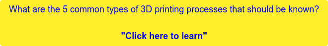 """What are the 5 common types of 3D printing processes that should be known?  """"Click here to learn"""""""