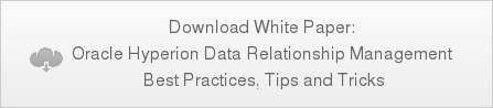 Download White Paper: Oracle Hyperion Data Relationship Management Best Practices, Tips and Tricks