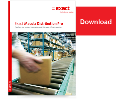 Exact Macola ES - Distribution