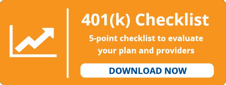 401(k) checklist