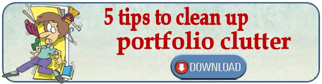 clean your portfolio clutter