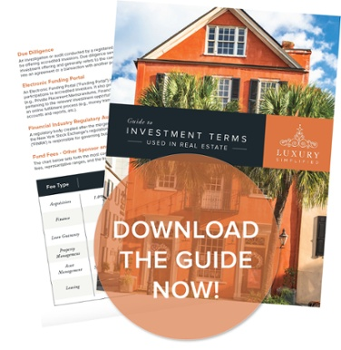 guide to charleston sc real estate investment terms