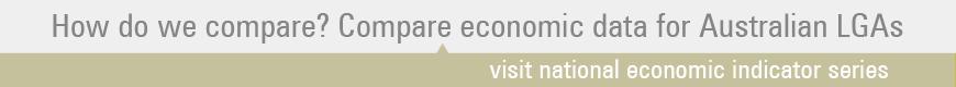 Compare economic data for Australian LGAs.