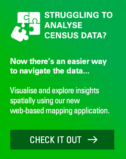 Explore 2016 Australian Census data using web-based mapping