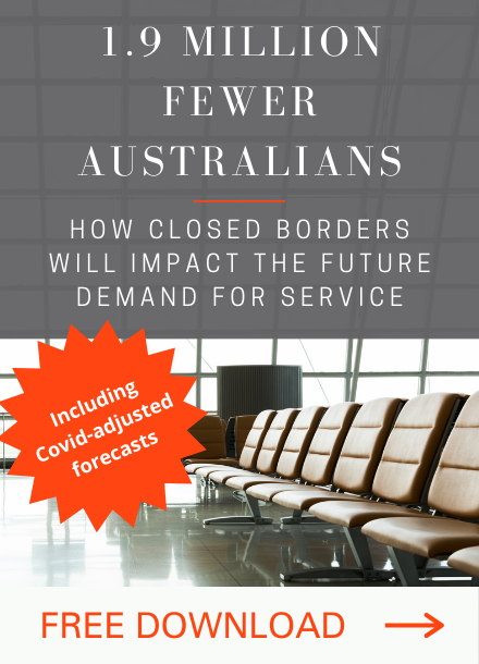 Demographic delays - how closed borders will impact the future demand for services