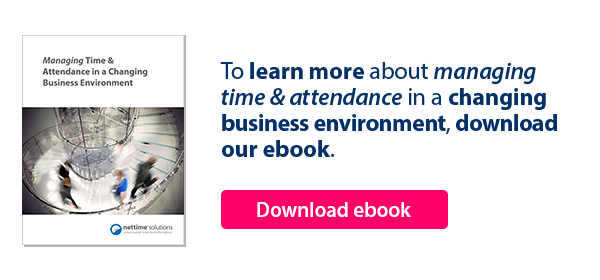 Managing Time and Attendance in a Changing Business Environment