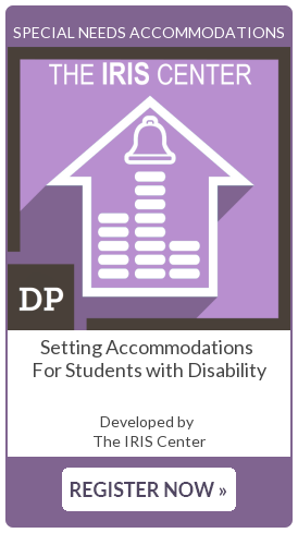 Setting Accommodations for Students with Disability