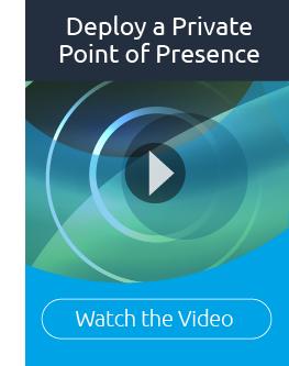Private Point of Presence graphic cta