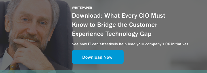 What Every CIO Must Know to Bridge the Customer Experience Technology Gap