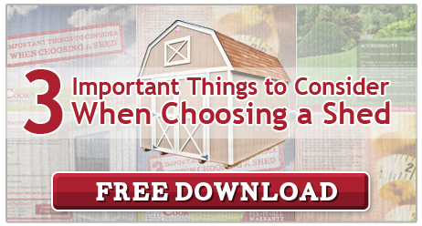 3 Important things to Consider When Choosing a Shed