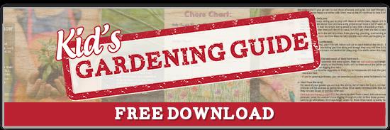 Kid's Gardening Guide