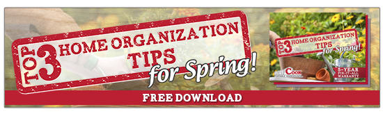 Download Top 3 Spring Home Organization Tips