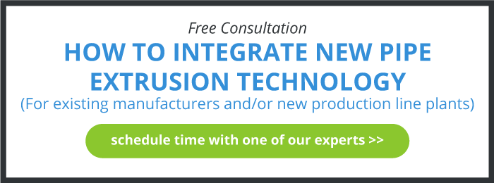 Free Consultation - Pipe Extrusion Machinery