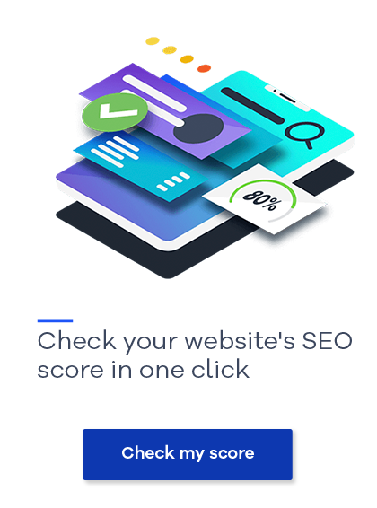 Check your website's SEO with our SEO checker