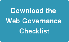 Download our Web Governance checklist