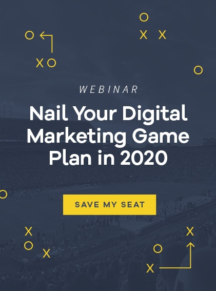 Register for Nail Your Digital Marketing Game Plan in 2020