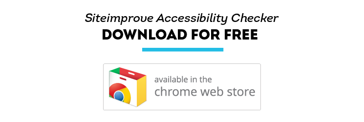 Siteimprove Launches Free Google Chrome Accessibility Checker