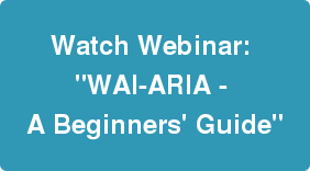 WAI-ARIA On-Demand Webinar Button