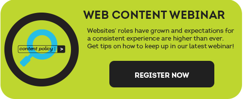 Websites' roles have grown and expectations for a consistent experience are higher than ever. Get tips on how to keep up in our latest webinar by registering here