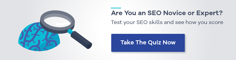 Take our quiz: Are You an SEO Novice or Expert