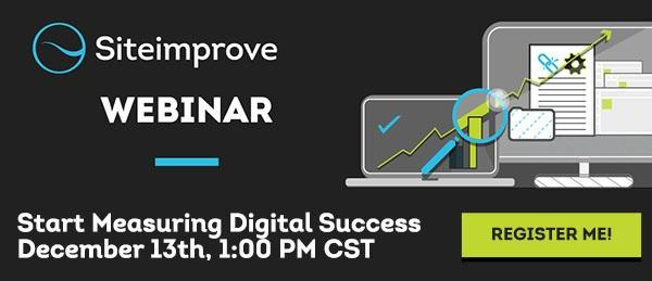 Register for the Start Measuring Digital Success Webinar