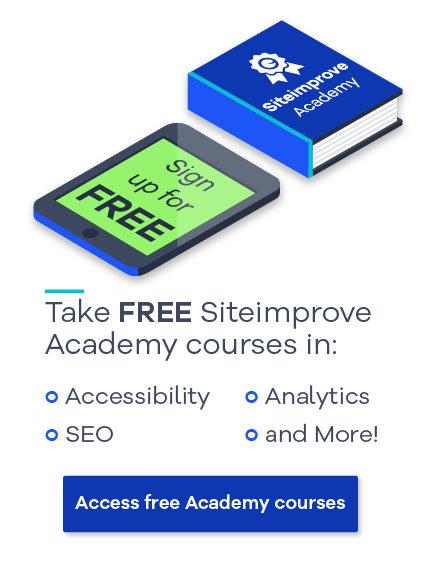 Take Free Siteimprove Academy Courses: Access the free academy courses today