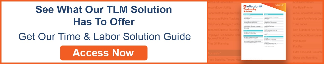 Timekeeping Solutions Feature List