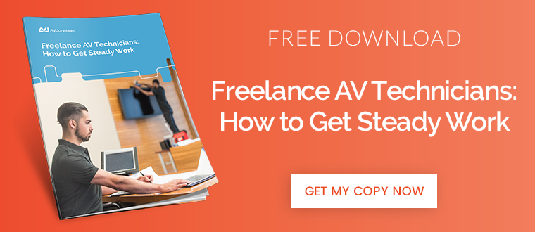 Freelance-AV-Technicians-How-to-Get-Steady-Work