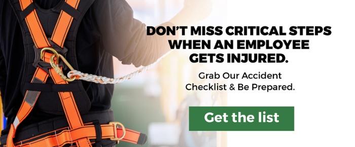 accident investigation checklist