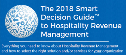 2018 Smart Decision Guide to Hospitality Revenue Management