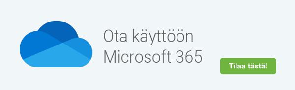 Tilaa Microsoft 365 käyttöönotto