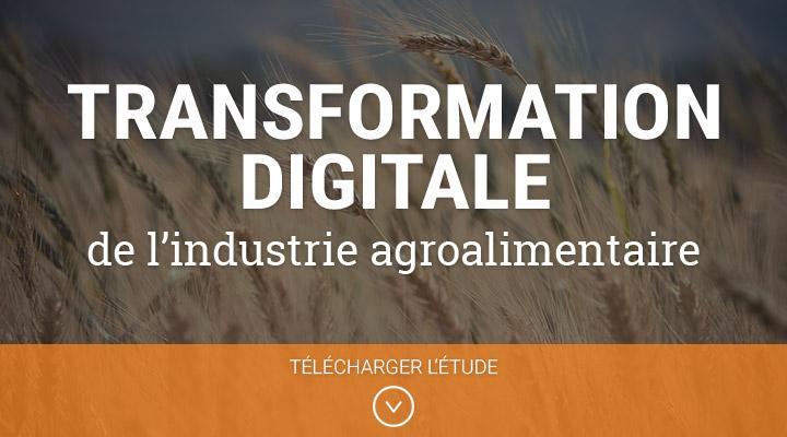 Transformation digitale de l'industrie agroalimentaire