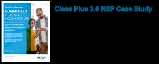 Class Plus 3.0 RRSP Case Study
