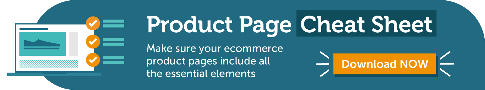 Download the Product Page Cheat Sheet