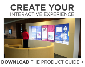 Download the T1V Product Guide to Build Your Interactive Experience