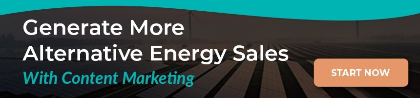 Generate More Alternative Energy Sales