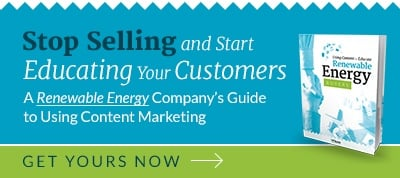 Educate Renewable Energy Buyers with Content Marketing