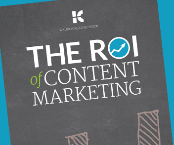 Download the ROI of Content Marketing free eBook