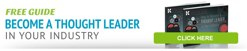 Free Guide: Become a Thought Leader in Your Industry